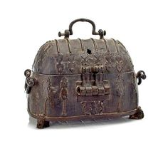 explore more at OneKingsCourt.com A bronze casket  South Asian, probably Deccan, 16th century