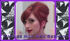 Vintage Everyday Beehive Bouffant Hair Tutorial