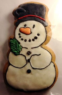 snowman cookie No. 5468365