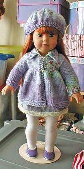 Ravelry: American Girl Flared Sweater pattern by Janet Longaphie