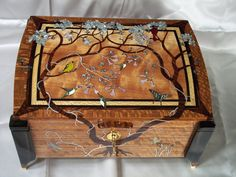 Great marquetry.