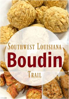 Southwest Louisiana boudin is a distinctively Louisiana culinary tradition, and it's so popular there's a Southwest Louisiana Boudin Trail. Try it!