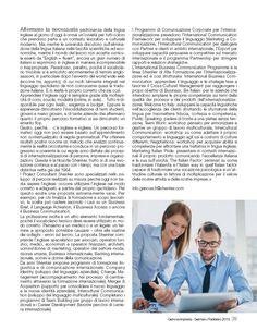 Genova Impresa - 1/2015 I servizi Shenker per l'internazionalizzazione