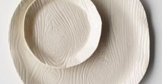 Porcelain Wood Grain Plate   //MAKERS// Pottery   Pinterest   Patterns, Inspiration and Everything