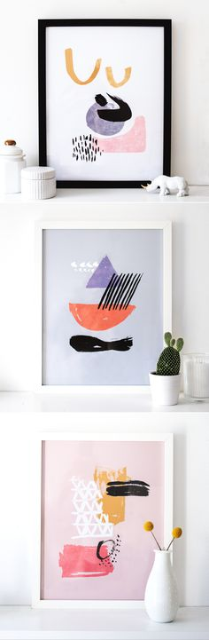 New prints and a chance to win any 2 of your choice from my Etsy shop with an instagram giveaway!