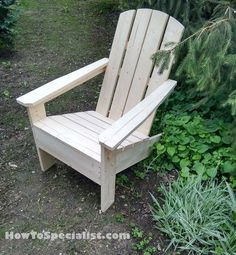 How to build adirondack chairs HowToSpecialist How to Build, Step by Step DIY Plans is part of Adirondack chairs diy This step by step diy project is about how to build wooden adirondack chairs - Adirondack Chair Plans, Wooden Adirondack Chairs, Adirondack Furniture, Teak Outdoor Furniture, Rustic Furniture, Garden Furniture, Outdoor Chairs, Outdoor Decor, Outdoor Lounge