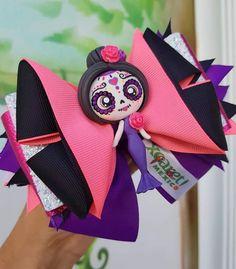 Ribbon Headbands, Hair Ribbons, Diy Hair Bows, Bow Hair Clips, Hair Barrettes, Little Girl Hairstyles, Diy Hairstyles, Halloween Bows, Biscuit