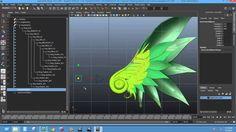 Rigging - Basic Wings Rig (Autodesk Maya)