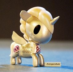 TokiDoki Unicorno Series 3 Cosmo I love this its my favorite! besides Pixie <3 Have this one also