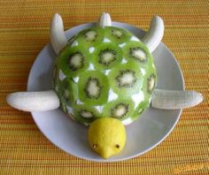 Time to Try This Yummy and Healthy Turtle Fruit Cake - http://www.stylishboard.com/time-to-try-this-yummy-and-healthy-turtle-fruit-cake/