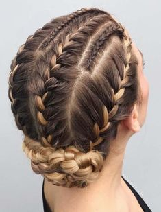 Best Of Braided Updo Hair Styles for Women 2018 We have tried our best to provide you amazing trends of braided updo hairstyles for These stylish trends of bridal updos are really amazing way for every woman to wear nowadays. Braided Hairstyles Updo, Braided Updo, Cool Hairstyles, Hairstyle Ideas, Hairstyles Haircuts, Fashion Hairstyles, French Hairstyles, Hairstyle Braid, Black Hairstyle
