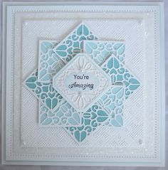 PartiCraft (Participate In Craft): Pinwheel Technique, Quilted Block Striplet, Noble Classic Adorned Square