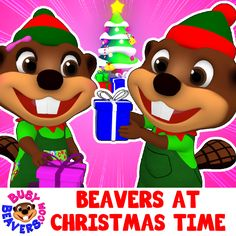 Learn the ABCs & Celebrate Christmas with this Catchy Song by Busy Beavers for Babies & Toddlers ☺ http://bit.ly/Beavers-at-Christmas-Time-3D-SG  #BusyBeavers #ChristmasSongs