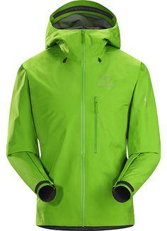 Casual Jacket Hoody Neon Green Focus Bikewear Classic Zip Jacket Mens