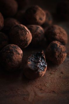 Date and Cocoa Raw Truffles