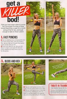 Hunger Games workout by the Hubs... Mr. Patrick Murphy in this month's Seventeen!