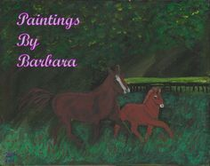 Hello and welcome to Paintings By Barbara. Barbara Flanagan is an artist located in Maryville, TN, painting the nature around her. House Painting, Digital Art, Paintings, Horses, Oil, Landscape, Artist, Prints, Animals