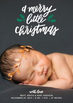 Holiday themed baby