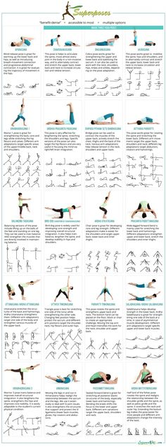 ☆ YOGA POSES ☆: These power poses are great! The names are different than what I know, but great poses nonetheless.