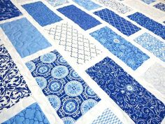 Blue And White Quilts Images Quilt Patterns Blue And White Easy Blue And White Quilt Patterns Baby Boy Quilt Modern Baby Quilt Spa Deb Strain Classic Blue And White