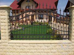 Garduri fier forjat modele gard Abalasei fier