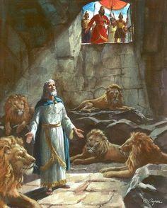 Jesus Christ Images, Jesus Art, Bible Pictures, Jesus Pictures, Religions Du Monde, Daniel And The Lions, La Sainte Bible, Bible Illustrations, Christian Pictures
