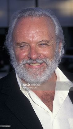BEVERLY HILLS, CA - JULY 10: Actor Anthony Hopkins attends the world premiere of 'The Mask Of Zorro' on July 10, 1998 at the Academy Theater in Beverly Hills, California