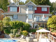 Relax at Mainstay Oasis, an oceanfront Bed & Breakfast in Port Moody BC.