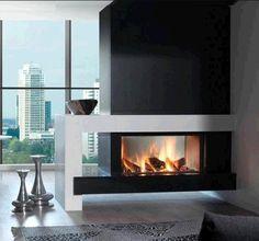 Kal-Fire Heat Pure 105 Tunnel #Kampen #Fireplace #Fireplaces #Interieur