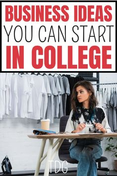 What about starting an online business in college? You will find all 6 of these profitable business ideas very simple to do. They are brilliant business ideas for beginners so you don't have to worry about not doing well. Business Ideas For Students, Business Ideas For Beginners, Best Small Business Ideas, Hobbies That Make Money, Make Money Blogging, Make Money From Home, Way To Make Money, College Life Hacks, Start Up Business