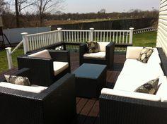 Ohana Outdoor Patio Wicker Furniture   Chaise Lounge Set | Balconies U0026  Verandas | Pinterest | Chaise Lounges, Patio And Furniture