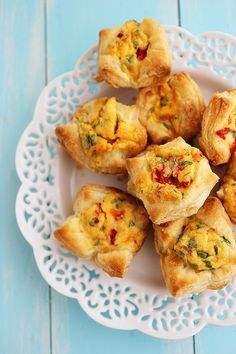 The Comfort of Cooking » Mini Puff Pastry Quiche