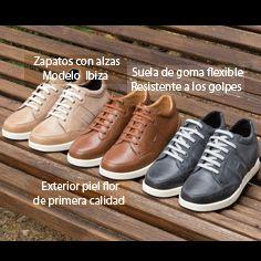 ¿Qué color te gusta más? Nuestro modelo Ibiza es perfecto para andar. Estos zapatos con alzas deportivos resisten largas caminatas.  #masaltos #zapatosconalzas #zapatosmasaltos #fashionmen #menstyle #calzadodeportivo #zapatosparaandar #zapatosdehombre #invierno #Navidad #Compras #regalos #moda #streestyle #gym https://www.masaltos.com/…/calzado-deportivo-aumentar-estat…