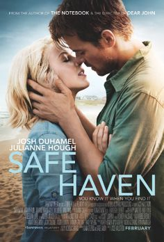 Official Poster and Trailer for Romance Film Safe Haven Released on http://www.shockya.com/news