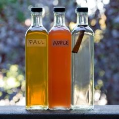 3 simple syrup recipes (fall, apple, cinnamon) that are sure to brighten your cocktails & coffee drinks. Learn all about your sugar & spice opportunities when making simple syrups.