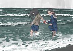 Anime Art Girl, Manga Art, Pretty Art, Cute Art, Aesthetic Art, Aesthetic Anime, Character Art, Character Design, Art Inspo