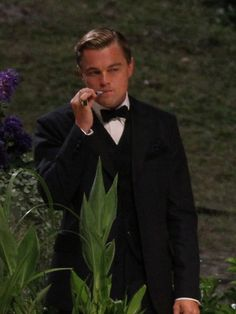 For you Andrew Joseph Russell - Leo On Set of 'The Great Gatsby'