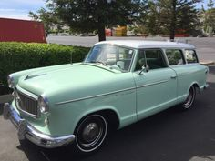 1960 AMC Rambler American Super Station Wagon