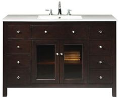 Kingston Wide Vanity - Bathroom Vanities - Bath | HomeDecorators.com