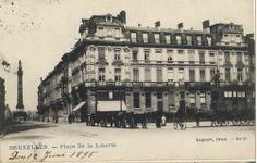 1895 - Place de la liberté, quartier Congrès #bruxelles #brussel #brussels