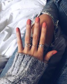 Pin von Diana - Nageldesign - Nail Art - Nagellack - Nail Polish - Nailart - Nails - Pin by Diana ᴘɪɴᴛᴇʀᴇsᴘɪɴᴛᴇʀᴇ ↝ gcidmartinez - - Nails Polish, Nail Polish Colors, Gel Nails, Acrylic Nails, Nail Nail, Shellac Manicure, Nail Glue, Nagellack Trends, Fall Nail Colors