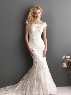 COMING SOON SPRING 2013 ALLURE ROMANCE 2610 Ivory/Cafe Size 6
