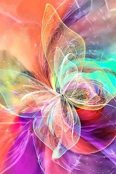 Resultado de imagem para butterfly wallpaper for mobile phone Colorful Art, Fractal Art, Drawings, Amazing Art, Wallpaper Backgrounds, Art, Pictures, Abstract, Beautiful Art