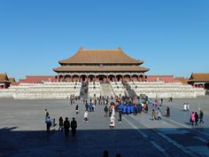 The Forbidden City, Beijing. The Hall of Supreme Harmony.