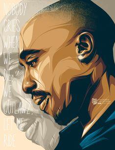 fan art Arte Do Hip Hop, Hip Hop Art, 2pac Poster, East Coast Hip Hop, Tupac Wallpaper, Bob Marley Art, Tupac Art, Tupac Pictures, Tupac Shakur