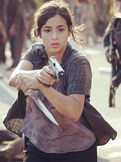 Tara Chambler: I really hope she sticks around for a while she is awesome <3