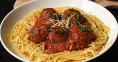 Paradicsomos húsgolyó | Nosalty My Recipes, Favorite Recipes, Menu Planning, Spaghetti, Meals, Cooking, Ethnic Recipes, Food, Face Book