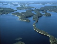 Lake Saimaa, 4 400 sq km. The Places Youll Go, Great Places, Beautiful Places, Places To Visit, Tour Around The World, Around The Worlds, Europe, I Want To Travel, Top Destinations