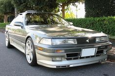 1991y TOYOTA SOARER 2.0GT TWIN Turbo L 希少色:リーフシェードトーニング[23R]