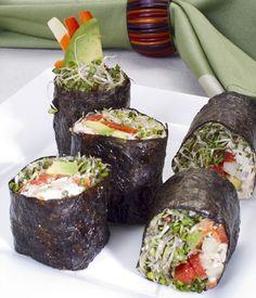 Sushi #raw #vegan #sushi